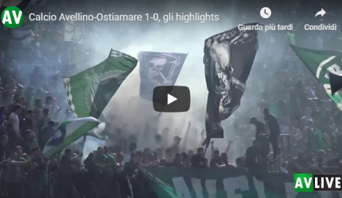 Avellino-Ostiamare 1-0: Highlights e Video Sintesi (Serie D)