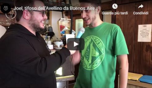 """Joel Mattivi Maraia a YSport: """"Io, tifoso dell'Avellino arrivato da Buenos Aires"""""""