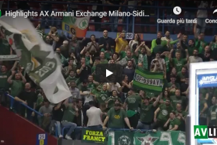 Olimpia Milano-Sidigas Avellino 74-82: Highlights e Video Sintesi (Gara 1 Playoff)