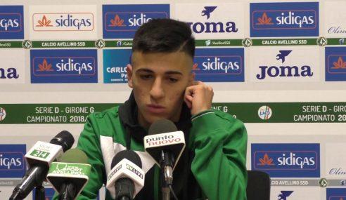 Infortunio Fabiano Parisi, frattura del perone per l'ex Avellino