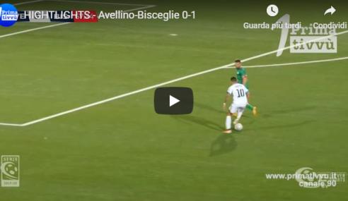 Highlights Avellino-Bisceglie 0-1: Video Gol Gatto e Video Sintesi (Serie C 2019-20)