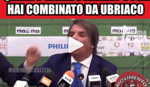 Eziolino Capuano diventa un meme della pagina Movimento 5 Litri (Video)