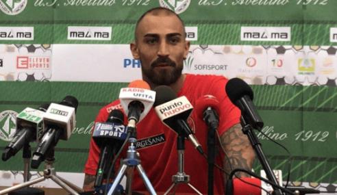 Avellino-Bari 2-2: le dichiarazioni di Simeri nel post partita