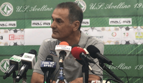 Avellino-Bari 2-2: le dichiarazioni di Vivarini nel post partita