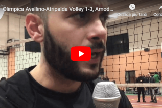 Olimpica Avellino-Atripalda Volley 1-3: le dichiarazioni di Amodeo post partita (Video)