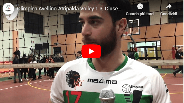 Olimpica Avellino-Atripalda Volley 1-3: le dichiarazioni di Settembre post partita (Video)