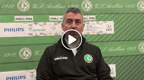 Virtus Francavilla-Avellino: le dichiarazioni di mister Padovano pre partita (Video)