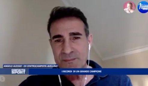 """Angelo Alessio a Prima Tivvù: """"Juve-Avellino del 2013? Una bellissima serata"""" (Video)"""