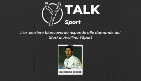 """Domenico Cecere a YTalk Sport: """"I 6 anni ad Avellino e il mio nuovo lavoro"""" (Video)"""