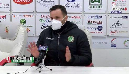 Turris-Avellino 0-2: le dichiarazioni di Domenico De Simone nel post partita