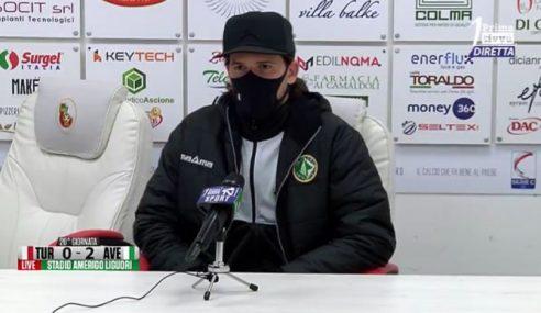 Turris-Avellino 0-2: le dichiarazioni di Maniero nel post partita