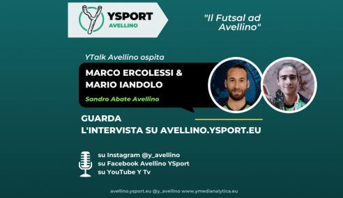 Futsal Avellino, intervista a Marco Ercolessi e Mario Iandolo (Video)