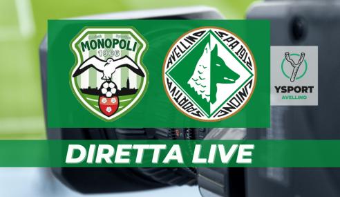Monopoli-Avellino 0-0: il Tabellino (Serie C 2021-22)