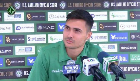Avellino Calcio: la conferenza stampa di presentazione di Alessandro Mastalli