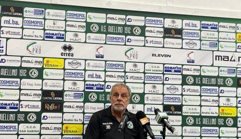 Fidelis Andria-Avellino: la conferenza stampa di Braglia pre partita (Serie C 2021-22)